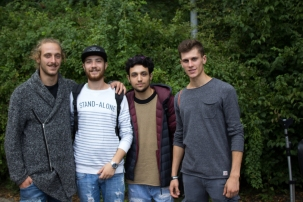 Four friend's from Poland